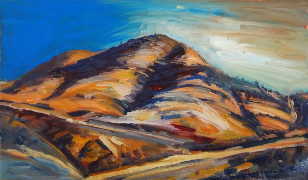 Arkaroola Oil Sketch 1 by
