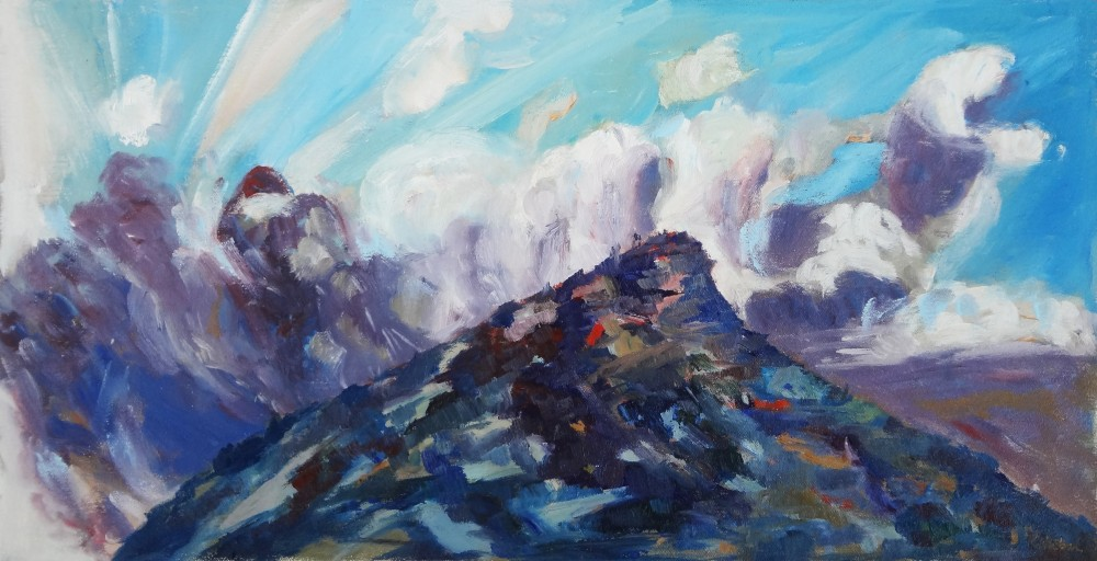 Arkaroola Oil Sketch 2 by