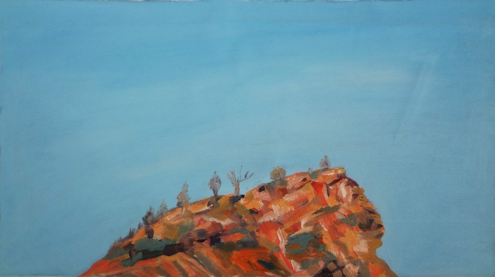 Arkaroola Oil Sketch 3 by