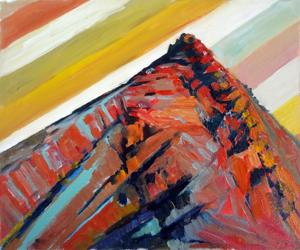Arkaroola Oil Sketch 7 by