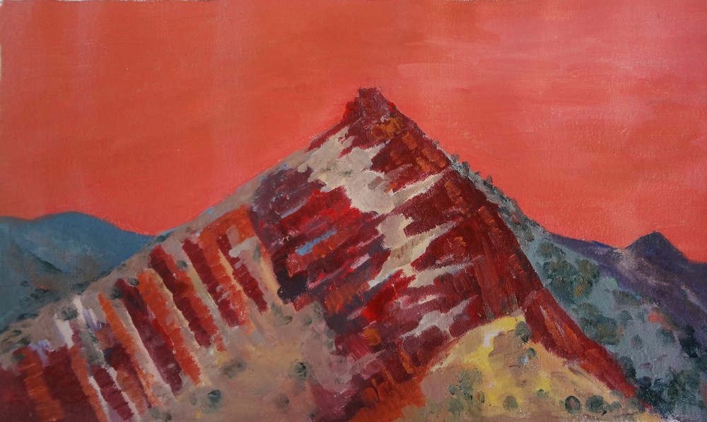 Arkaroola Oil Sketch 8 by