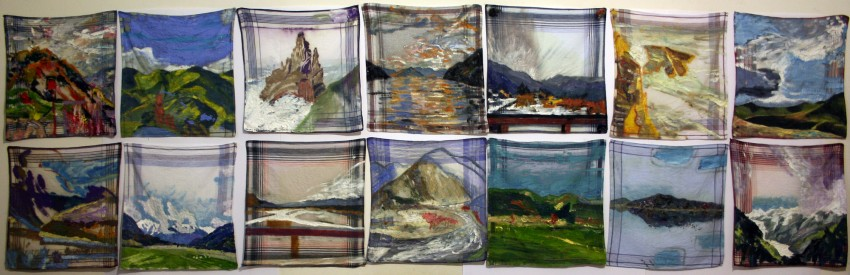 14 days in New Zealand with 14 Handkerchiefs by