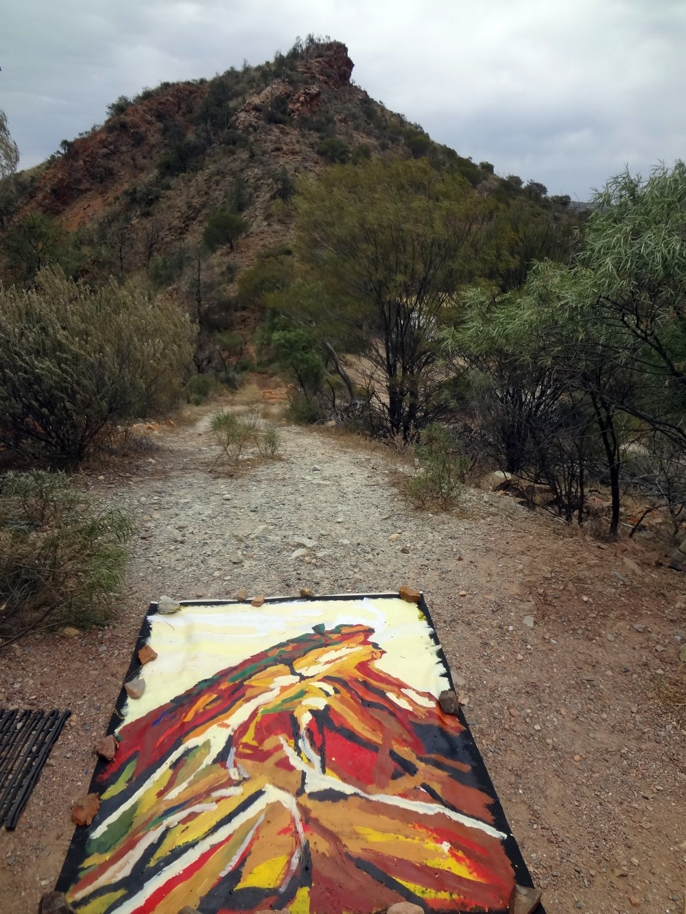 Arkaroola on site 3 by