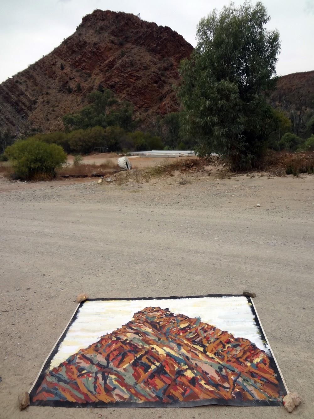 Arkaroola on site 4 by