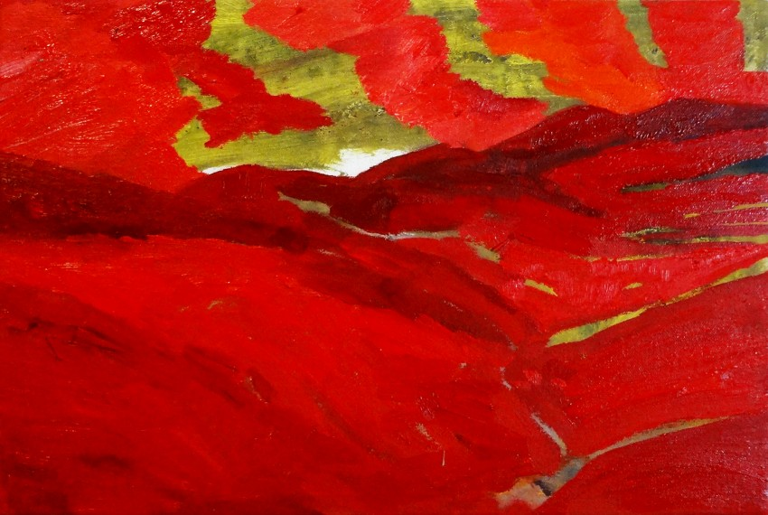 Palmer Landscape Red 2 by
