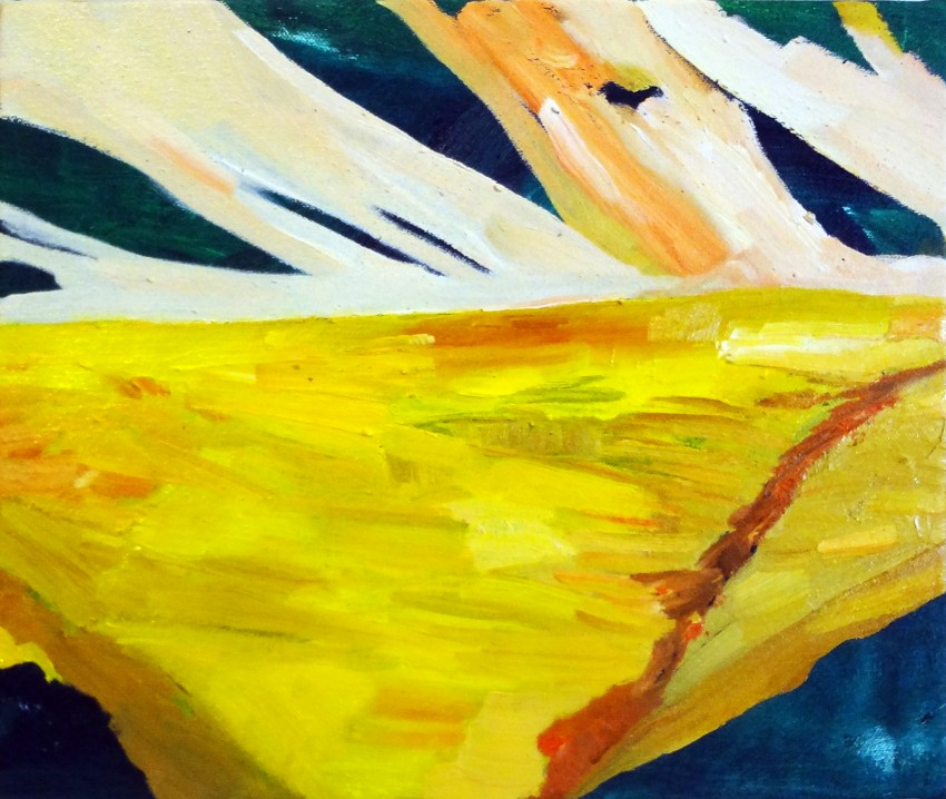 Palmer Landscape Yellow 2 by